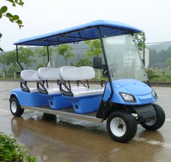 6 sitzer elektro benzin golfwagen mit besichtigungswagen. Black Bedroom Furniture Sets. Home Design Ideas