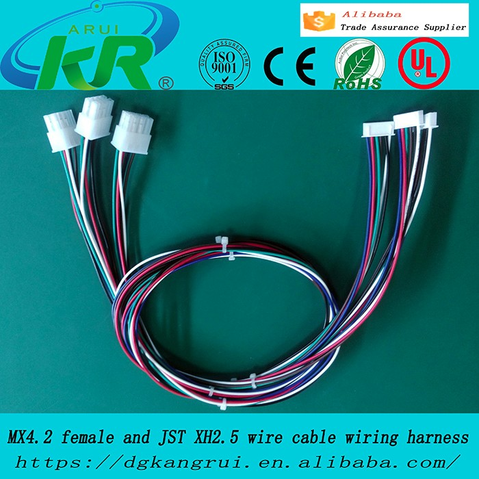 kr1000 micro jst sh 1 0mm 7 pin female connector with wire and male rh alibaba com