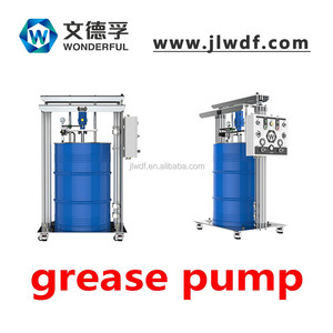 Air operated lubricant grease dispensing systems grease pump drum pump