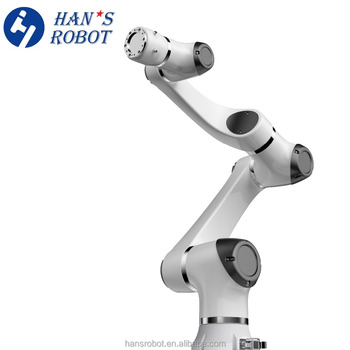 Easy programming safe small industrial robotic arms 6 axis 3kg for Automation