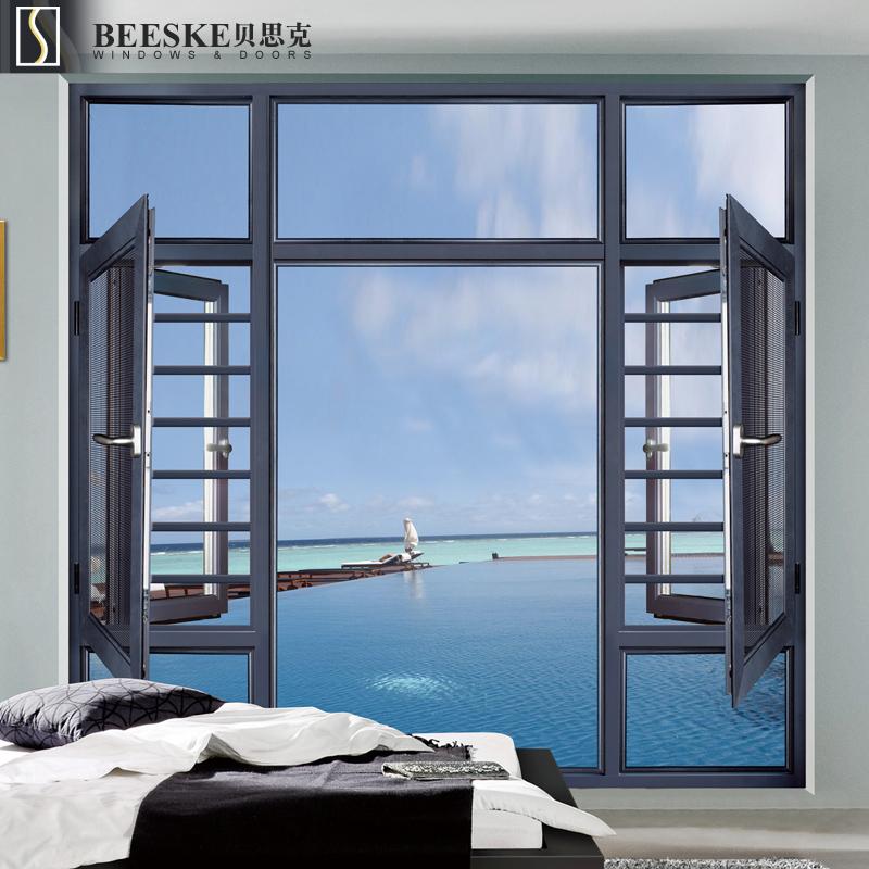 Venta al por mayor ventanas de aluminio tamaño estandar-Compre ...