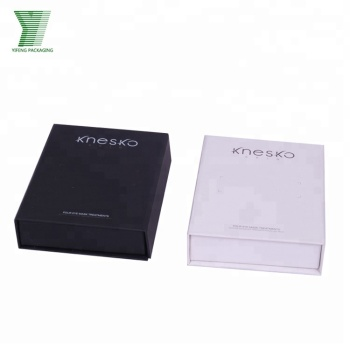White and black paper gift boxes matt finished paper packaging cardboard box manufacturers