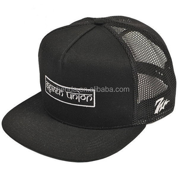 Top level hot selling 5 panel neon mesh hats