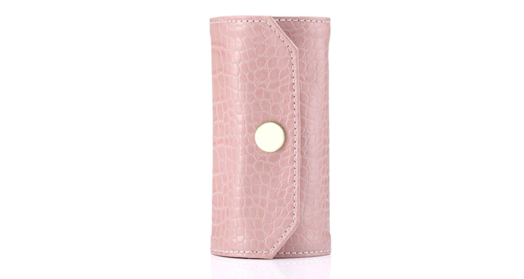Hot sale travel jewelry roll custom leather jewelry organizer