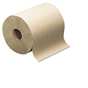 SCA TISSUE NORTH AMERICA LLC RK350A Hard-Roll Towels, Natural, 7 7/8 Wide x 350ft, 5.5 dia, 12 Rolls/Carton