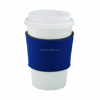 Neoprene Insulated Reusable Coffee Cup Sleeves