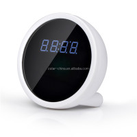 wifi alarm clock with digital video camera full HD 1080p for security