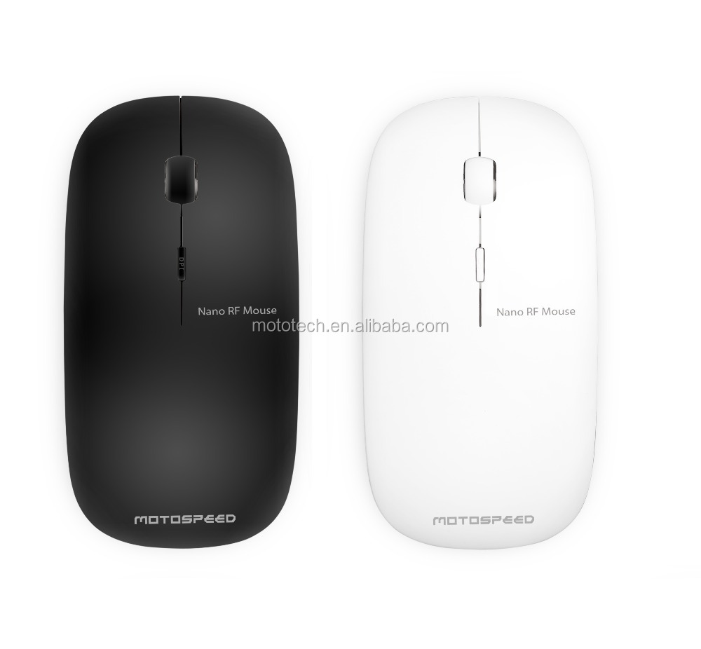 2017 Ultra-thin 2.4 GHZ wireless mouse, lovely elegant gift mouse
