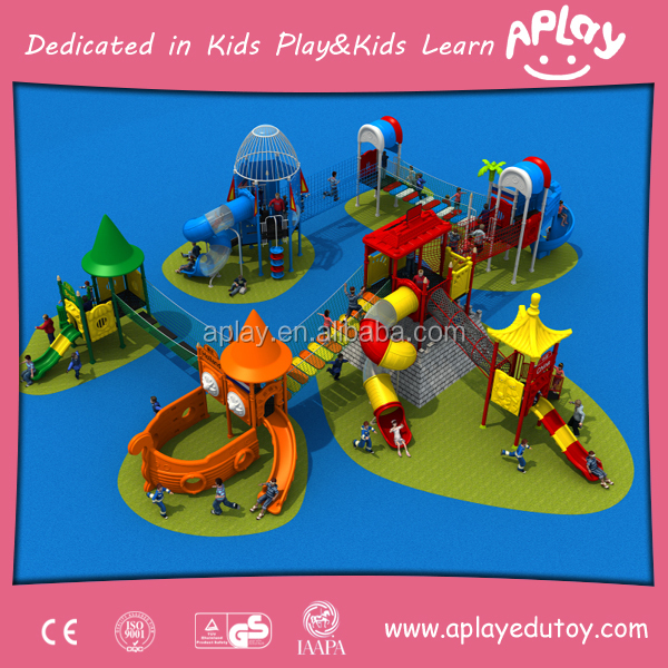 China Foreign Trade Residential Playground Equipment Kids Rockers