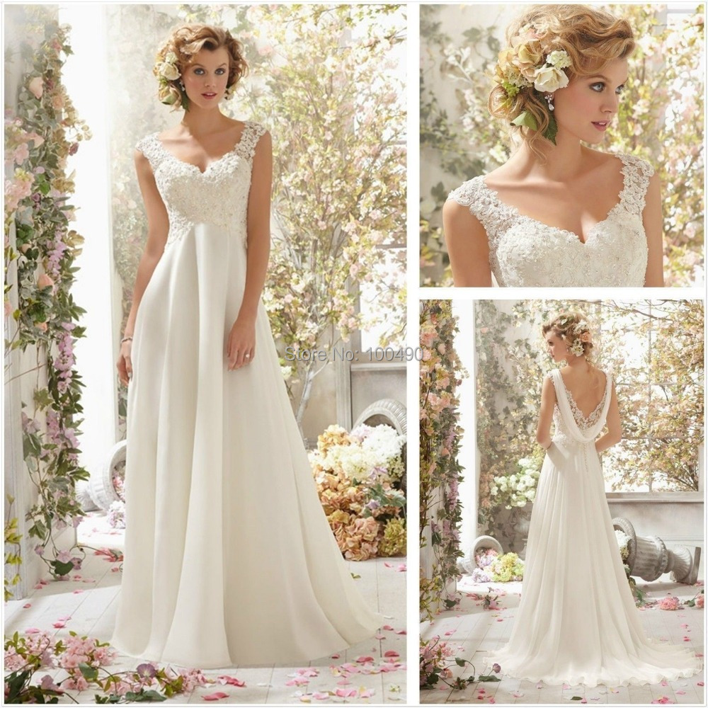 Sapphire Bridal Vintage Wedding Dress 3 4 Sleeve White: Vestido De Noiva Simples: 3 Dicas Para Escolher Pela