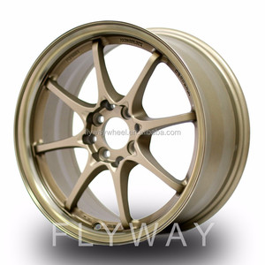 Flyway H801 Rays Volk Racing CE28 Bronze Finish Alloy wheel for Racing Cars