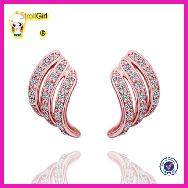 2015 New Model Gold Plated Earrings 2 Gram Gold Plated Beautiful ...