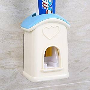 WONR- Automatic Toothpaste/ toothpaste House (Random Color)