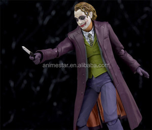 SHF The Dark Knight Joker Anime Action Figure Toy 15cm