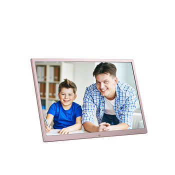 17 Inch Metal Frame Touch Screen Digital Photo Frame Buy Large