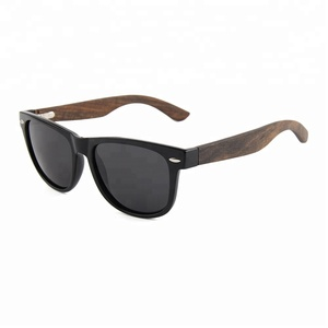 Alibaba China Spring hinge wooden polarized sunglasses latest 2018