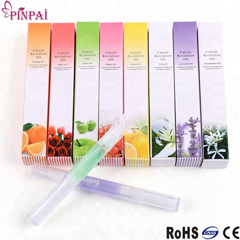 Custom quality 15 different flavors nail cuticle oil pen eco-friendly nails cuticle revitalizer oil pen container manufacturers