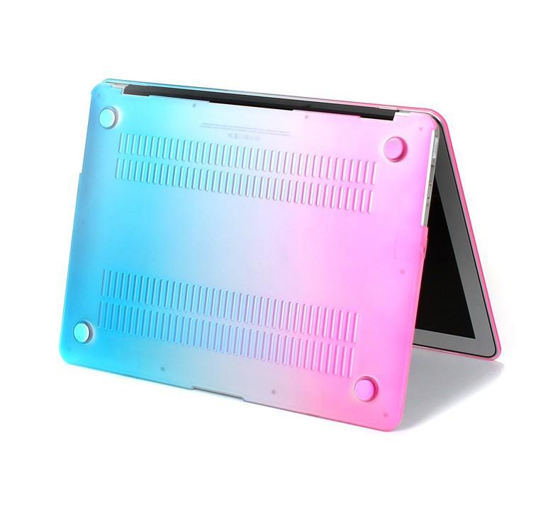 אופנה מט קשת קשה מגן מקרה עבור ה-MacBook Air 11 Pro 13 / 15 אינץ ' עם רשתית + ורוד כיסוי המקלדת משלוח חינם