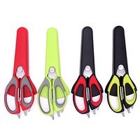 separable multi detach heavy duty shears household magnetic fridg stainless steel poultry bulk multipurpose kitchen scissors