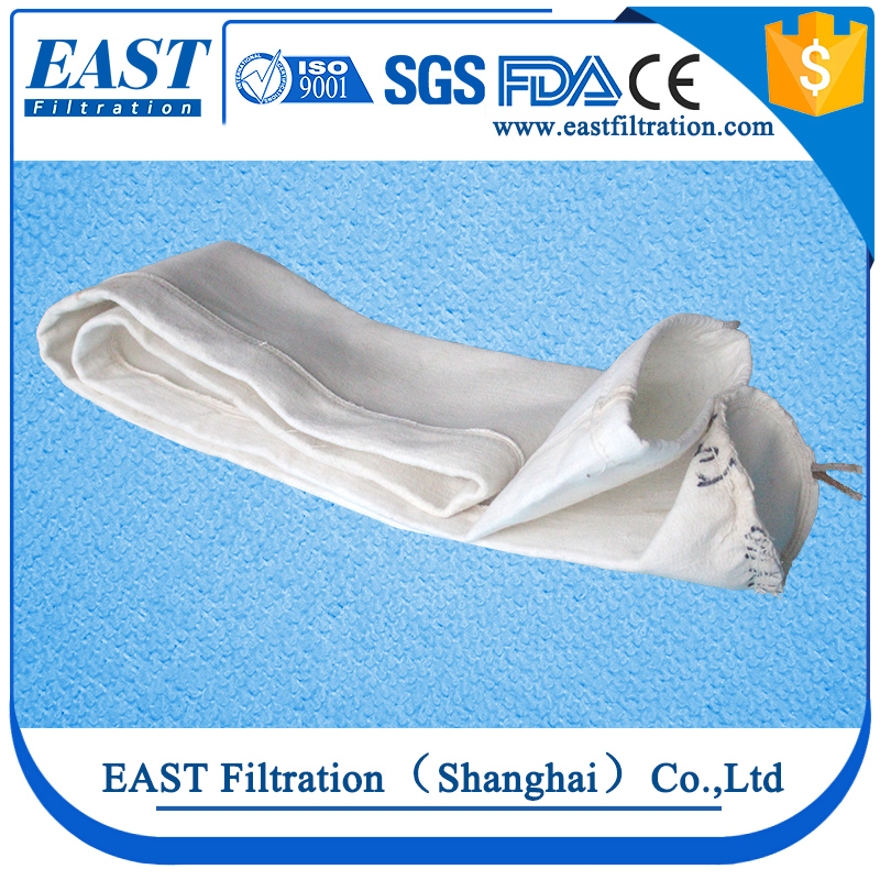 Chinese production most effective 100 micron dust cost bag filter