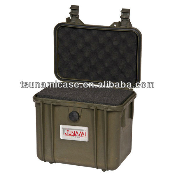 Waterproof SGS IP67 equipment case,survivor military case,plastic acrylic round corner box