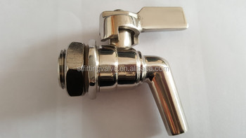 DN15 Stainless Steel Faucet(polished finish)