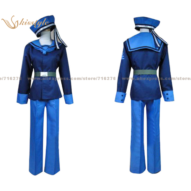 Kisstyle Fashion APH Hetalia: Axis Powers Norway Uniform COS Clothing Cosplay Costume,Customized Accepted