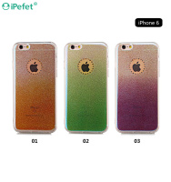 New Design Bling Diamond Luxury Gradient Color Cell Phone Case Cover For iPhone 6/s