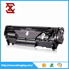 cheapest price compatible new black toner cartridge 12A Q2612A for HP LaserJet 1010 printers