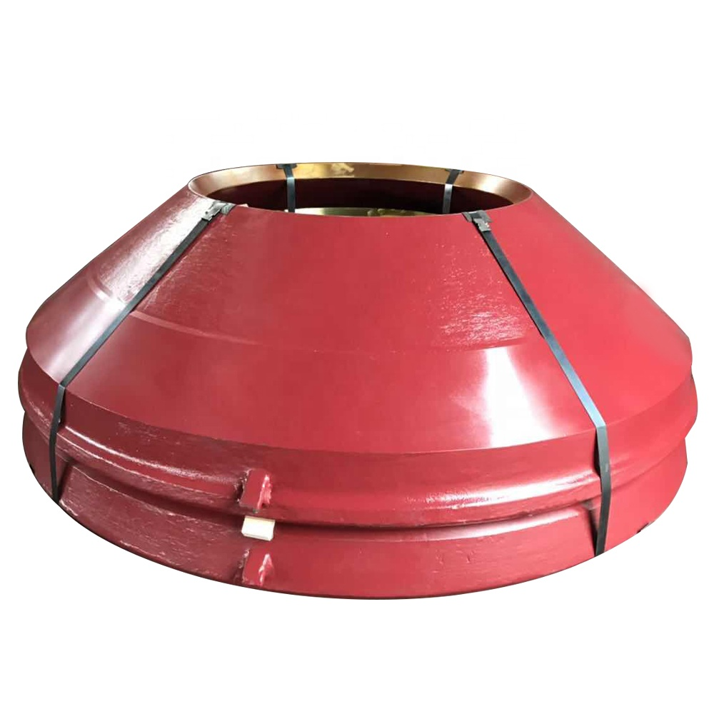 High manganese steel HP200 bowl liner cone crusher mantle parts