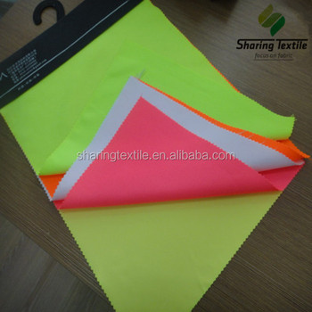 100% Polyester Reflective Safety Vest Fabric/High Visible Safety Fabric/High Visibility Vest Fabric