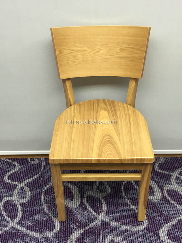 wooden restaurant chairs for sale used from Foshan Factory FOH-BCC39