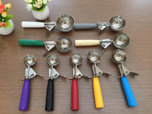 ice cream scoop with stainless steel material