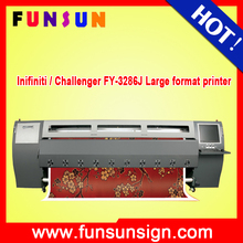 Infiniti / Challenger FY-3286J 3.2m outdoor large format solvent printer with 6pcs SPT508GS heads factory price