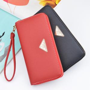 865a034181 ... Bag Set Women Summer Clear Handbag. 2019 online wholesale vogue PU  leather wallet for lady with card slots money pocket inside purses