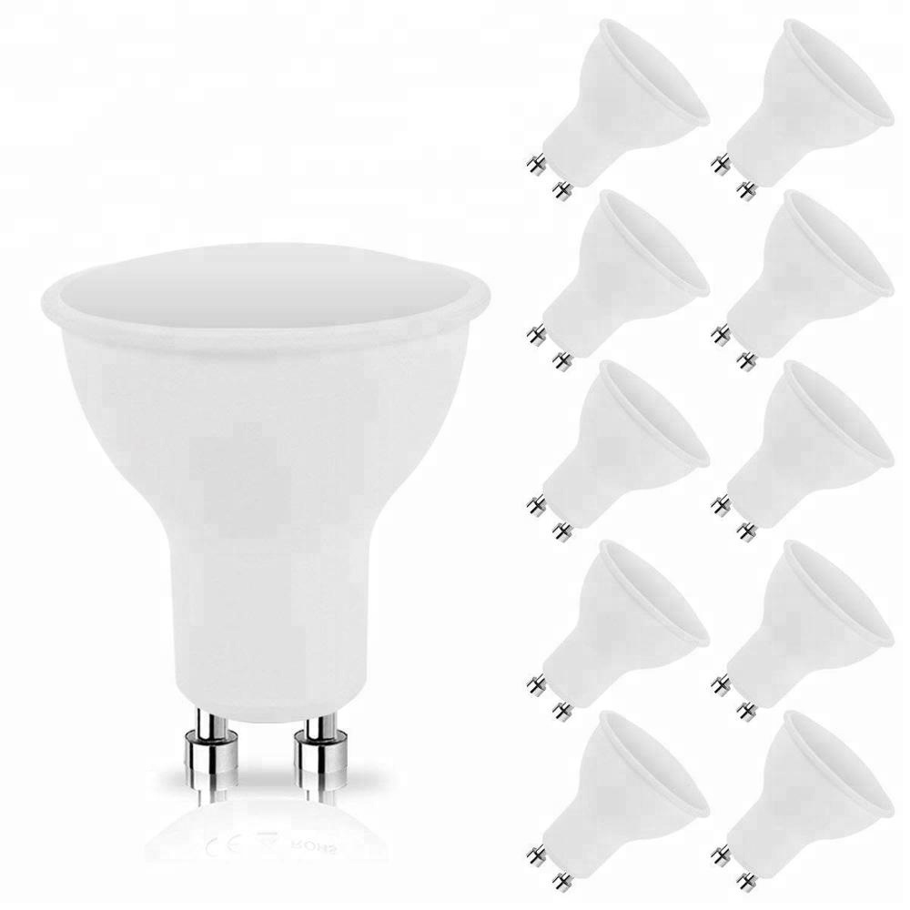 50% Discount Dimmable Beam Angle  120  Led Bulb Spot Light GU10 5W for Home Hotel
