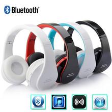 Bluetooth Headset Wireless Headphones Head phone set Stereo Earphone Earpiece Audio for iPhone Samsung Folding Design NX-8252