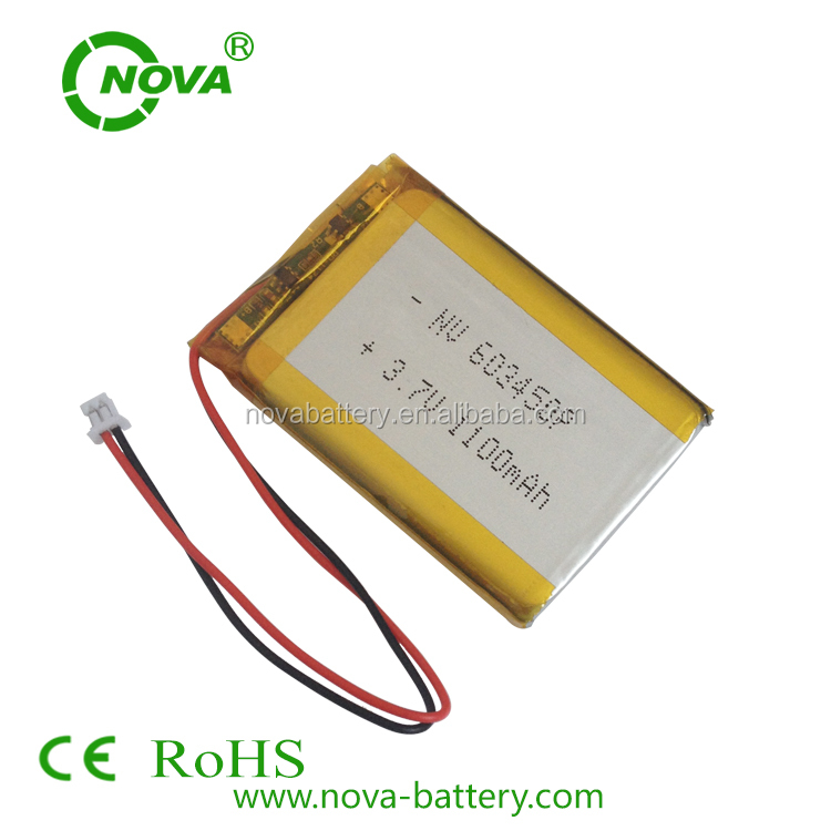 li ion polymer battery 3.7v 1000mah rechargeable li-ion battery 063450 1000mah