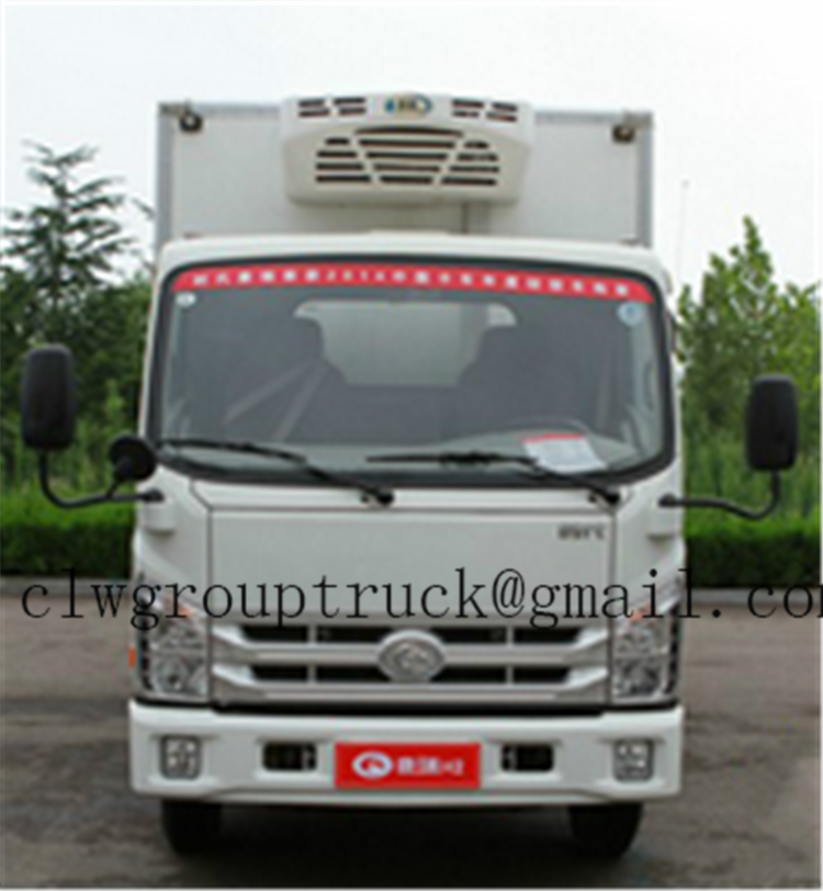 latest Euro 3 Emission Standard Refrigerator , refrigerated truck