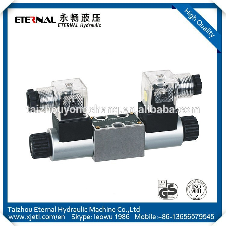 Cheapest 4WE3 vickers Hydraulic suction control valve 24vdc solenoid directional valve