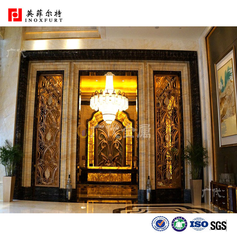 New Design Wall Art Decor Room Divider Laser Cutting Metal Wall ...