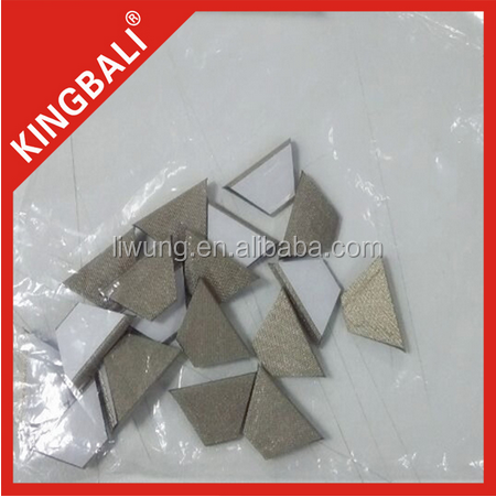 Die cutting EMI Conductive gasket Sheet Button Material with high quality for VR box