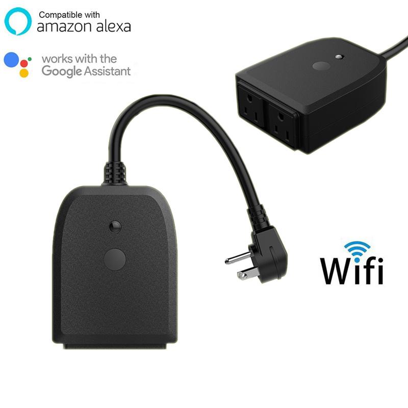 Echo Voice Remote Control Outdoor Wifi Smart Rechargeable Outlet - Buy  Smart Outlet,Wifi Outlet,Rechargeable Outlet Product on Alibaba com