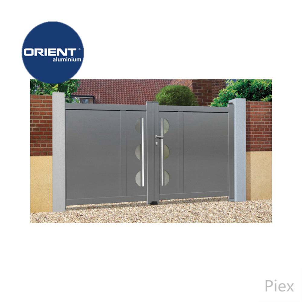2017 modern design latest main gate designs aluminum contemporary gate iron gate design from nigeria