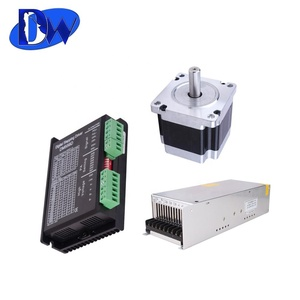 Best price leadshine DM556 digital Hybrid stepper motor drive 50VDC/5.6A # sm019 for cnc plasma cutting