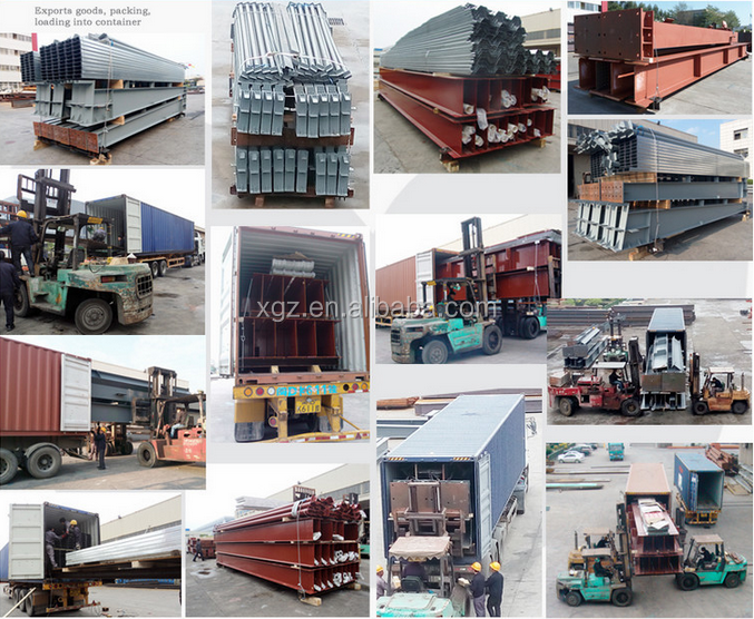 China Supplier new fast build construction projects for steel structure