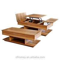 lifting coffee table for tea in living room center