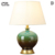 E27decorative table lamp Pure copper ceramic table lamp Hotel desk lamp