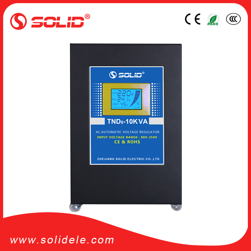 PLC 10kva voltage and frequency stabilizer