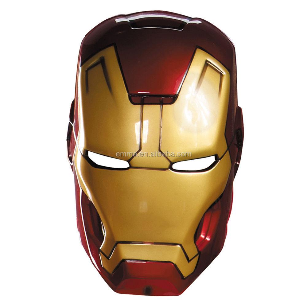 Gambar Sketsa Helm Iron Man